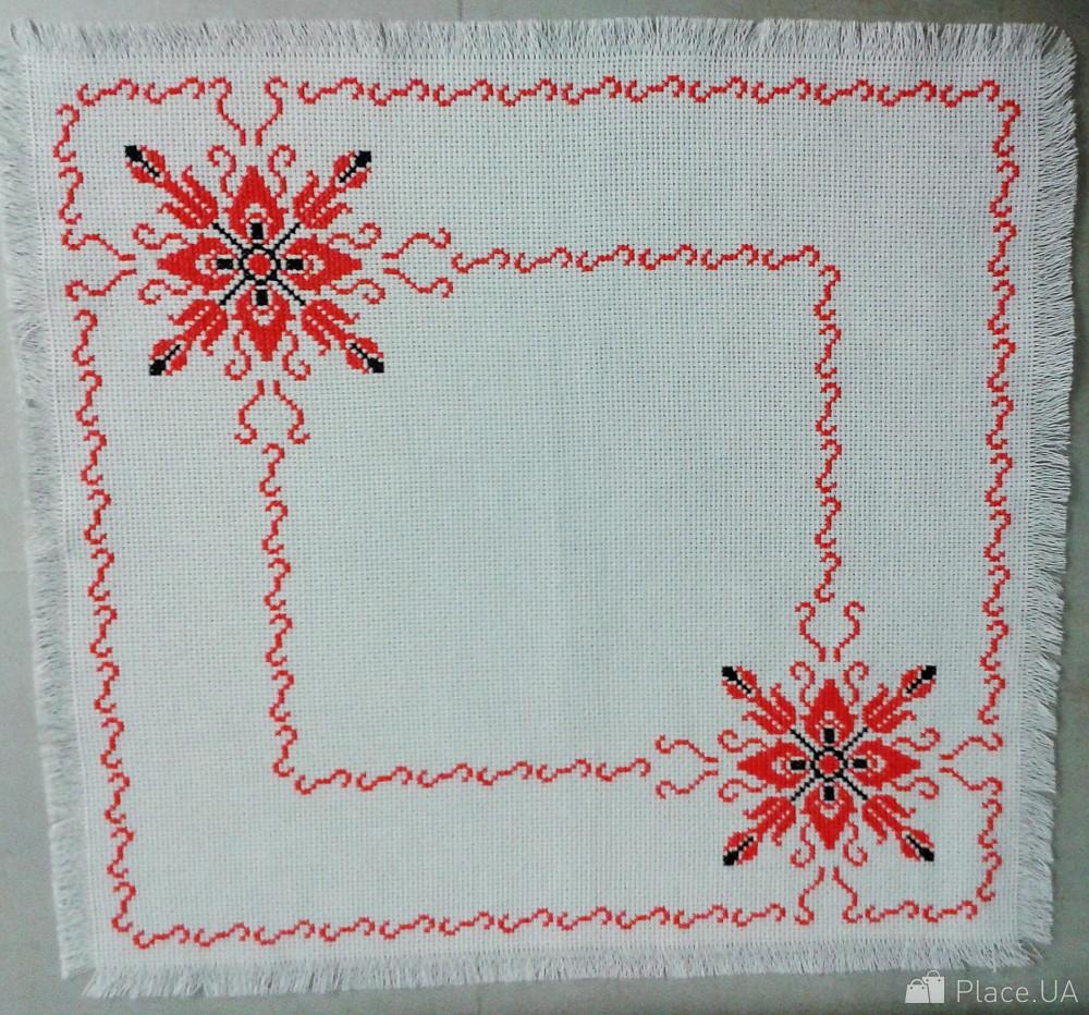 Вышивка крестом салфетки схемы фото 75