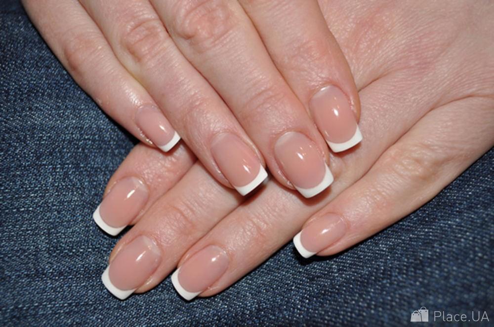 Чем можно делать френч на гелевых ногтях