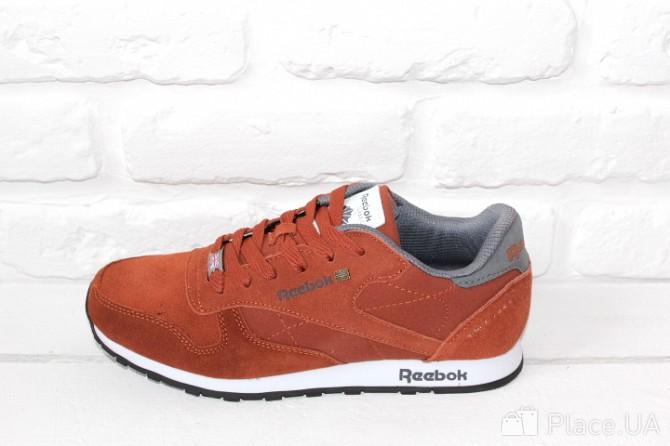 Мужские кроссовки Reebok Classic синие и коричневые Харьков - изображение 2 b4dd265884ff5