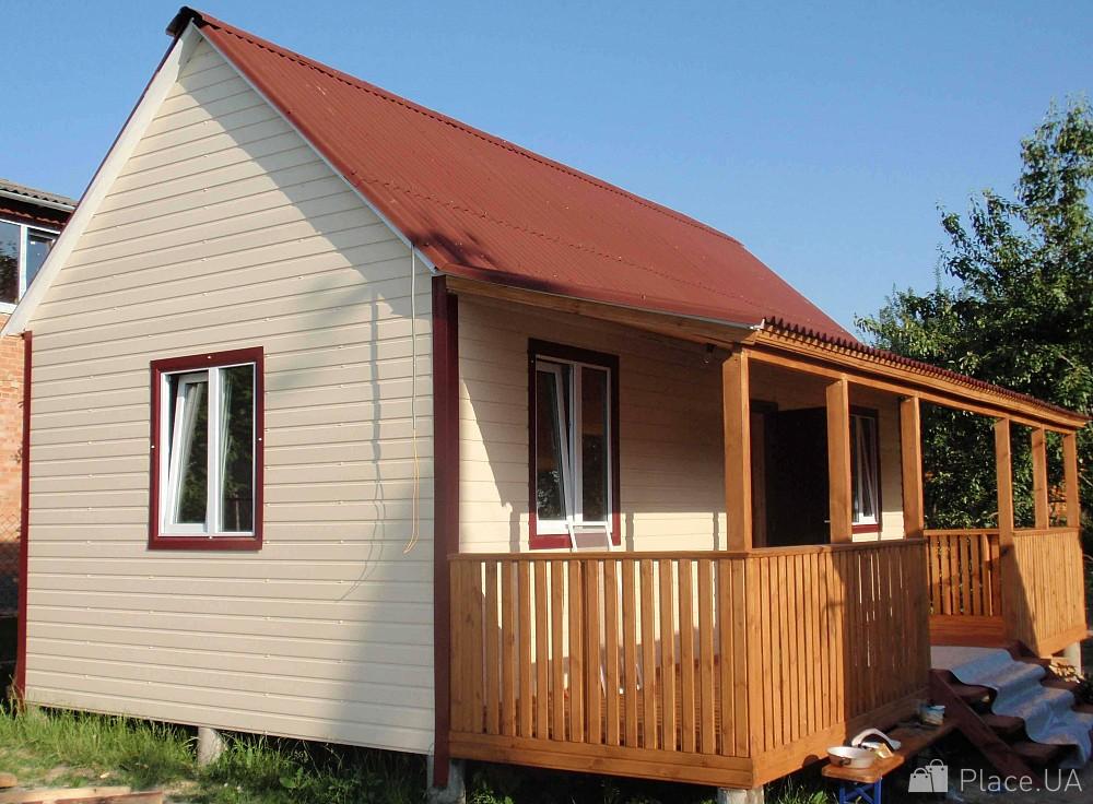дачный домик из бытовки фото Спасскую