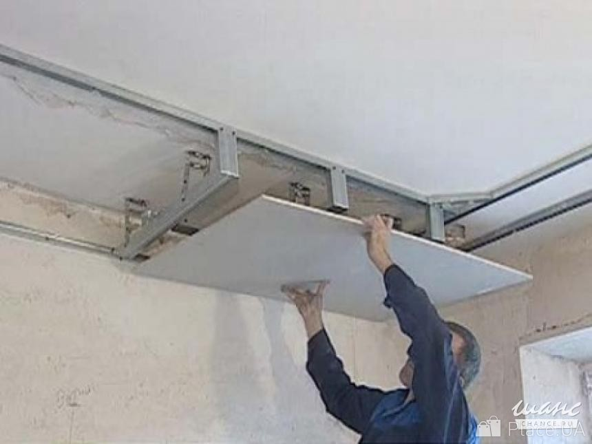 Как сделать навесные потолки из гипсокартона своими руками