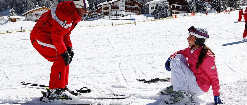 На лыжах картинки