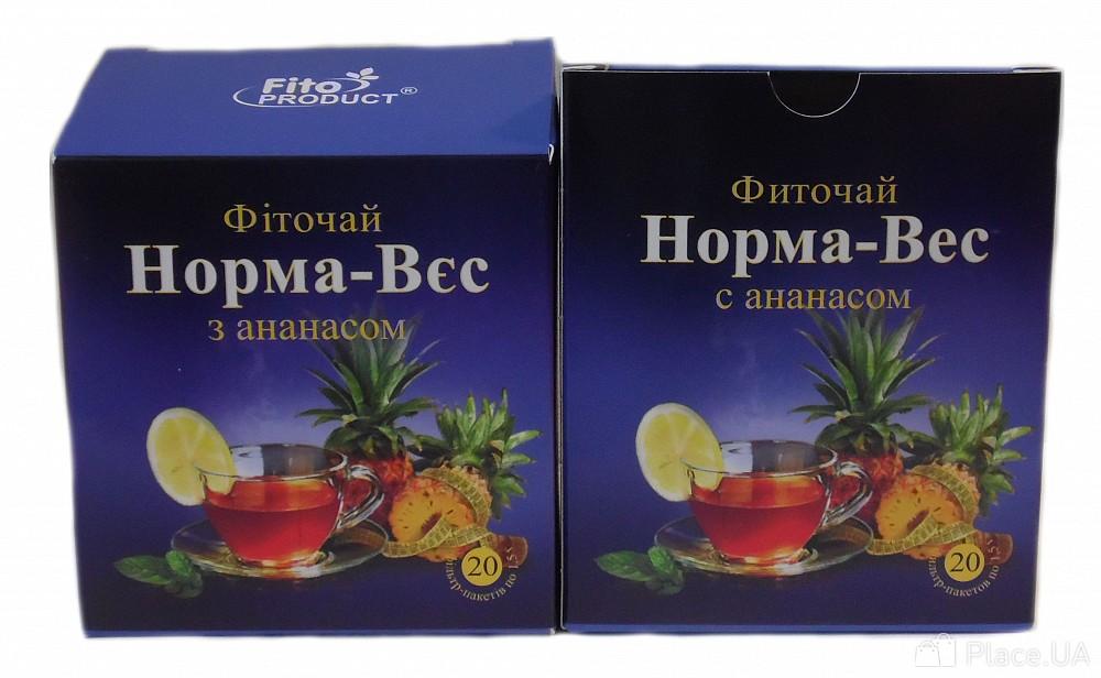 Норма вес чай для похудения