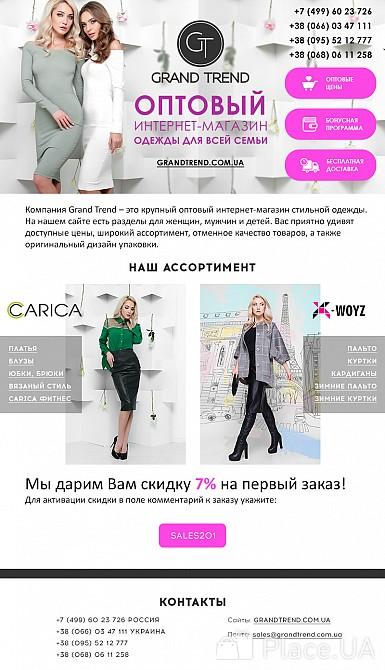 Сайты оптовых поставщиков одежды