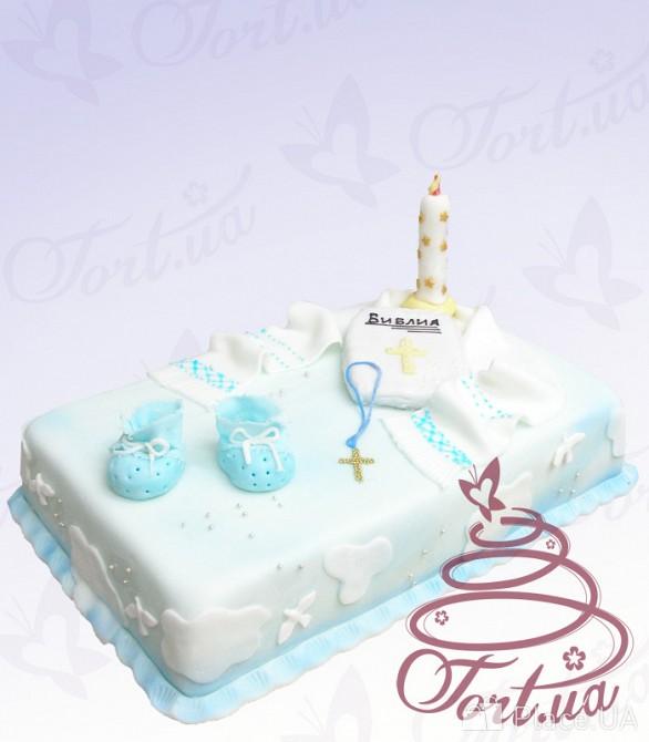Сделать торт на крестины своими руками