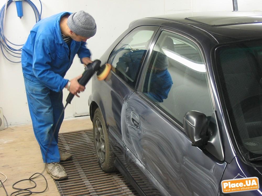 Шлифовка полировка автомобиля