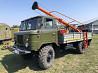 Ямобур БКМ 302 на базе Газ 66 предназначенный для бурения под опоры линий электропередач ЛЕП Одесса