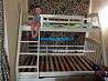 Кровать двухъярусная деревянная Каспер, двоярусне (двоповерхове) ліжко доставка из г.Ровно