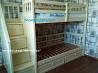 Кровать двухъярусная деревянная Стелла, двоповерхове ліжко Ровно
