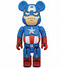 Bearbrick - Captain America (капитан Америка)