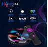 Smart Android box приставка H96 Max X3 4/32 Amlogic S905x3 настроена доставка из г.Киев