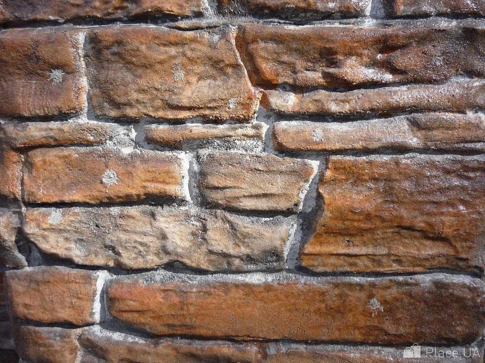 Имитация камня из штукатурки фото