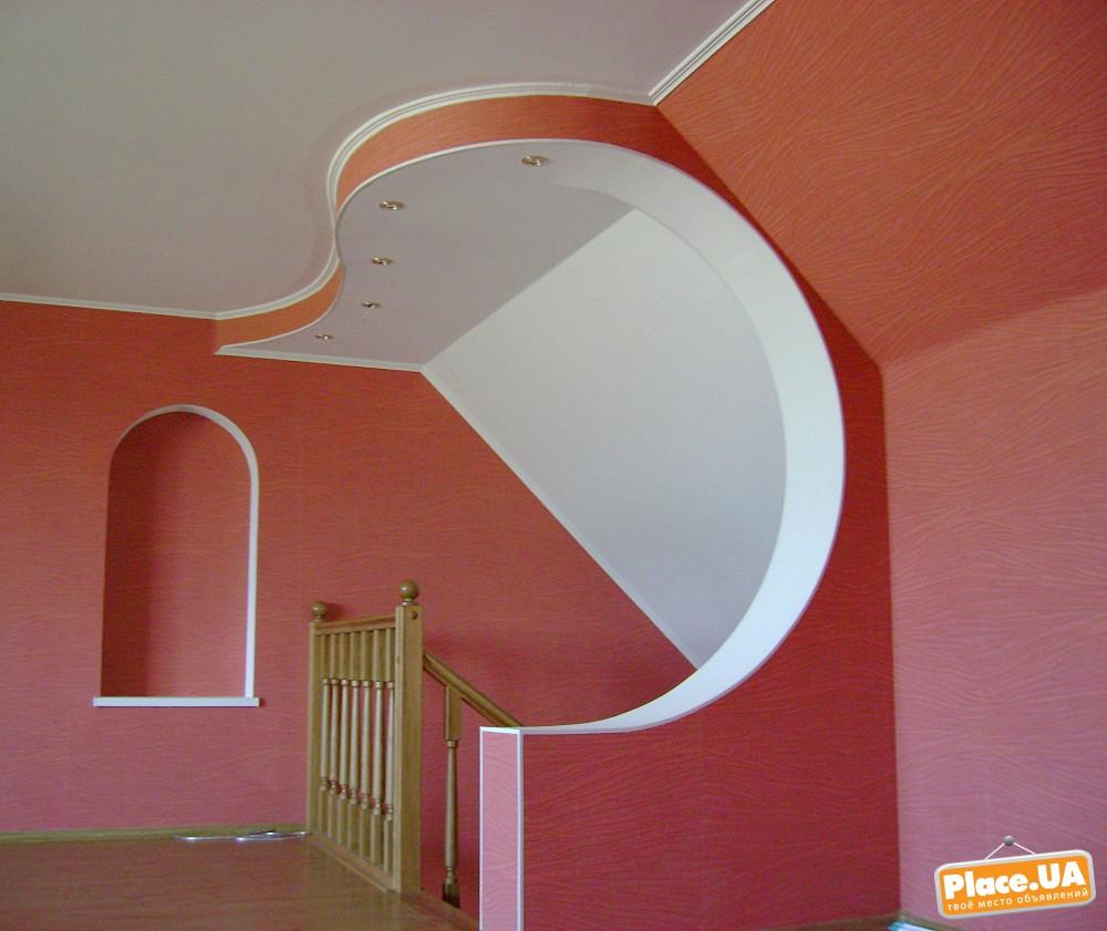 Гипсокартонные потолки и стены своими руками