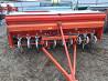 Сеялка зерновая анкерная на трактор 2, 6 м б/у Tume производство Финляндия доставка из г.Киев