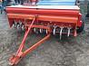 Зерновая механическая навесная сеялка 2, 6 м б/у Tume производство Финляндия доставка из г.Киев
