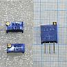 Резисторы подстроечные (потенциометры) 3296w 1вт Vatronics многооборотные керметные доставка з м. Одеса