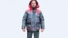 Курточка утепленная рабочая серая с красной отделкой Київ