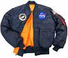 Льотна куртка NASA MA-1 Flight Jacket Alpha Industries доставка з м. Луцьк