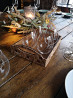 Поднос из дерева и пробки \ Декоративный винный декор ручной работы доставка з м. Київ
