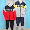 Спортивный костюм ROCK для мальчика двухнитка Seagull размер 8, 10, 12 лет доставка из г.Кривой Рог