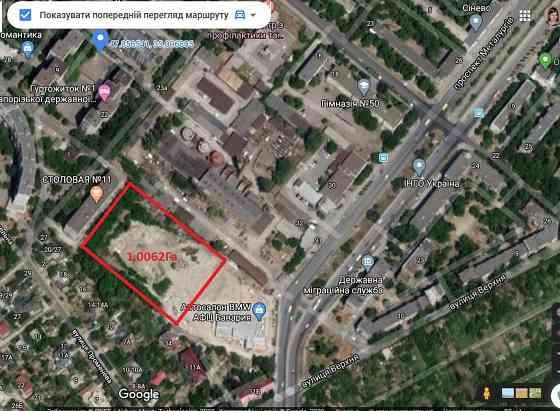 Продам землю 1,00 кв.м. в Запорожье, просп. Металлургов , 300000 $ Запоріжжя