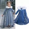 Платье Эльза Синее доставка из г.Киев