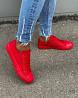 Женские кеды красного цвета доставка з м. Одеса