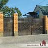 Кованые ворота, калитки, двери. Заказать Харьков