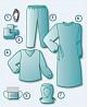 Комплект одежды противоэпидемический № 2 стерильный, не стерильный доставка из г.Киев