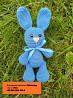 Амигуруми зайка заяц вязаная игрушка 19 см. ручная работа hand made доставка из г.Киев