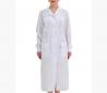 Халат женский белый с накладными карманами медицинский модельный Киев