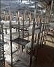 Стеллаж-сушка 4 полки производственный нержавеющая сталь (aisi 201) доставка из г.Киев