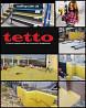 Пвх мембрана гідроізоляційна Rooftop Торговой марки Tetto жовто-чорна доставка из г.Киев
