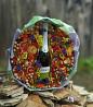 Съедобный букет на свадьбу из сухофруктов с шампанским (цена без учета алкоголя) в Днепре Днепр