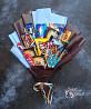 Съедобный букет из конфет Kitkat, Papita с Pepsi в Днепре Днепр