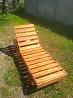 Шезлонг - лежак деревянный доставка из г.Смела