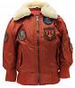 Детская оригинальная куртка-бомбер Top Gun Kids B-15 Bomber Jacket (rust) доставка из г.Винница