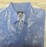 Мужская рубашка H&M easy iron голубая 41-42 с длинным рукавом новая доставка из г.Киев