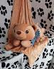 Плед с подушкой в виде медвеженка доставка из г.Прилуки