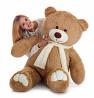 Большой плюшевый медведь Мистер 160 см. (латте) Киев