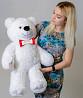 Большой плюшевый медведь Мистер 85 см (белый) Киев