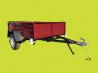 Купить прицеп новый легковой Днепр-2000х1300х500 усиленный от производителя. В подарок тент доставка из г.Бахмут (Артёмовск)
