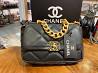 Cумка-конверт Chanel 19 Black Киев
