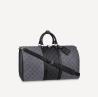 Сумка Louis Vuitton Keepall 50 С Плечевым Ремнем Monogram Eclipse Revers Киев