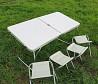 Стол для пикника со стульями Folding table раскладной, Складной стол доставка из г.Киев