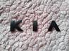 Металлические буквы KIA Чёрная на кузов авто доставка из г.Киев