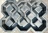 Формы для тротуарной плитки газонная решетки 600х400 под траву доставка из г.Днепр