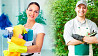 Женщина на уборку в офис и мужчина на помощь по хозяйству Львов