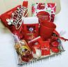 Подарочный бокс на любой праздник в красном цвете. доставка из г.Одесса