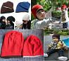 Комплект из двух шапок, маме и ребенку, взрослая шапка и детская шапка доставка из г.Киев